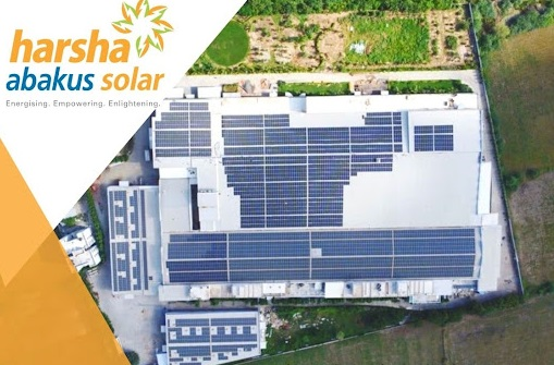 Glad to share, Harsha Abakus Solar commissioned 2 MW (1 MW each) solar rooftop project at leading textile factory in Gujarat – EQ Mag Pro