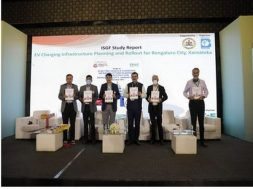 ISGF study report on EV charging infrastructure planning and rollout for Bengaluru released by V Sunill Kumar, Minister for Energy, Govt of Karnataka