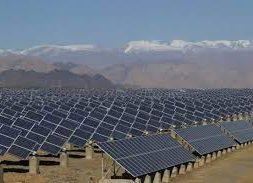 Inauguration of a 2.4 Megawatt capacity solar power plant at Pondicherry University