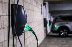 Meghalaya's first electric vehicle charging station in Shillong