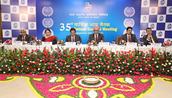 Proud to share that company registered Rs 8,444 crore profit in FY20-21: PFC CMD at 35 AGM – EQ Mag Pro