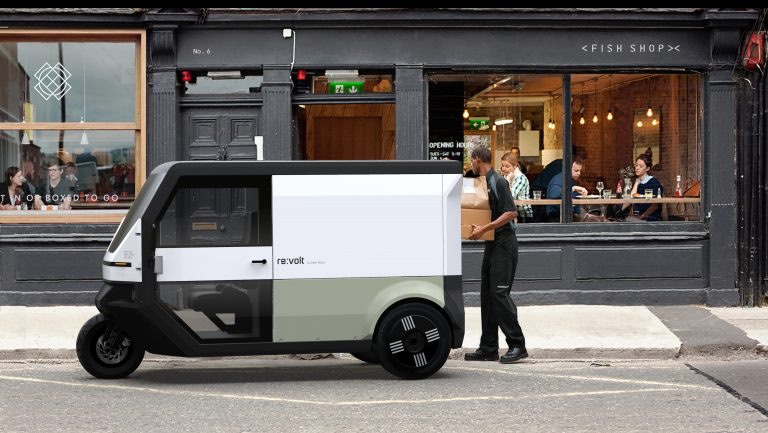 Swedish electric delivery van offers 400km range, includin from solar roof – EQ Mag Pro