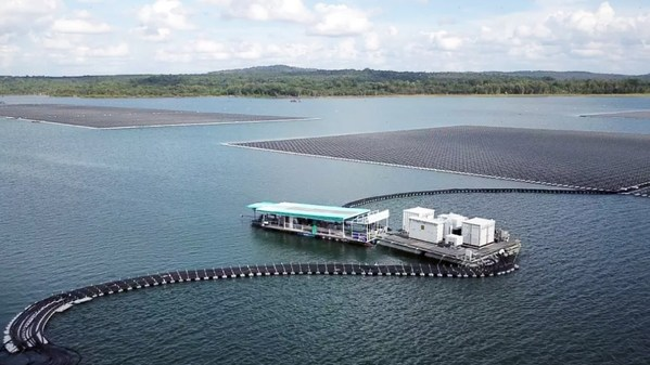 Thailand's Largest Floating PV Plant with Sungrow PV and Floating Solutions Comes Online – EQ Mag Pro