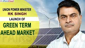 R K Singh launches Green Day Ahead Market